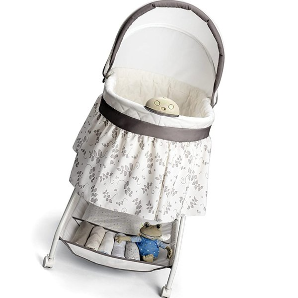 delta children deluxe sweet beginnings bedside bassinet - best baby bassinets