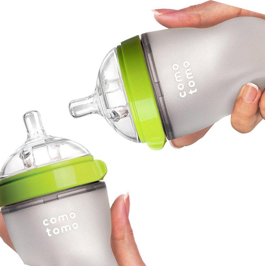 comotomo baby bottle - best bottles for breastfed babies