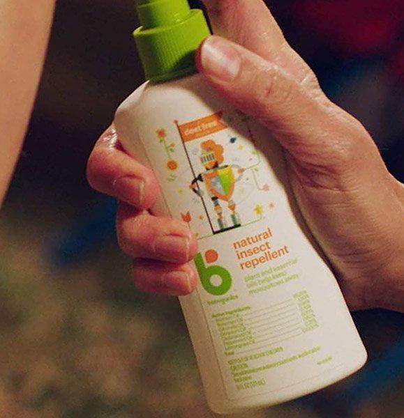 babyganics travel size bug spray - best mosquito repellent for babies