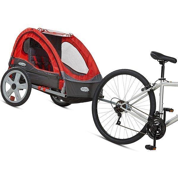 instep bike trailer for kids - best baby bike trailer