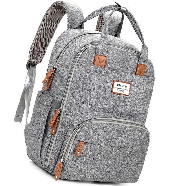 ruvalino diaper bag backpack - best diaper bags
