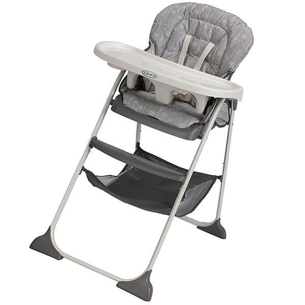 graco slim snacker high chair - best high chair