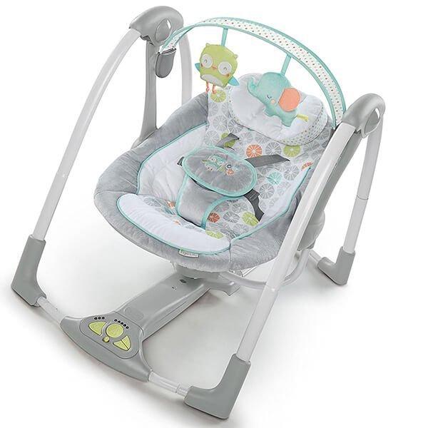 ingenuity swing 'n go portable baby swing - best baby swing
