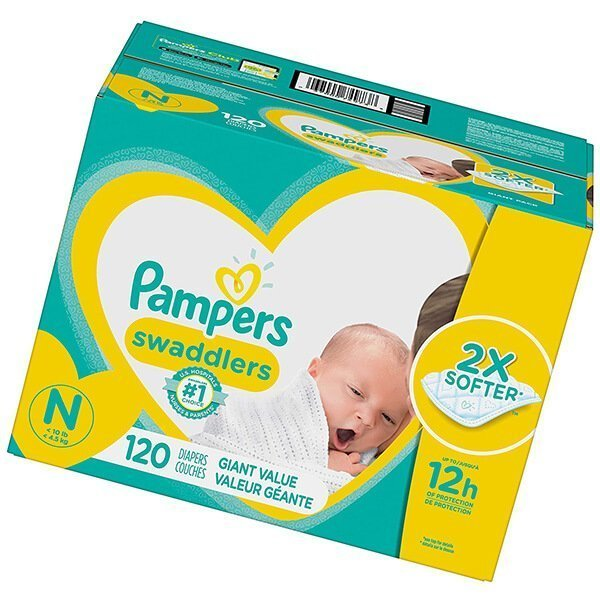 pampers swaddlers baby diapers - best diapers
