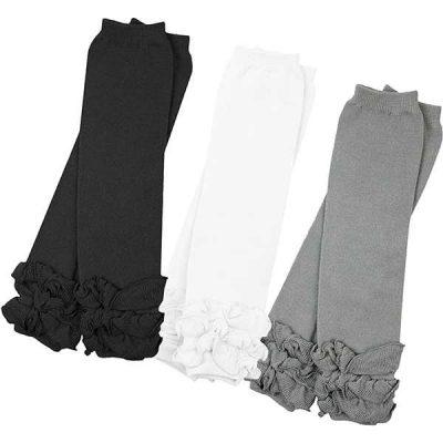 3 pairs of girls judanzy baby leg warmers - best baby leg warmers