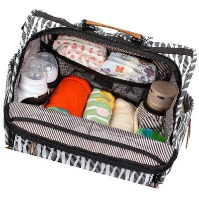 allcamp zebra diaper bag - best diaper bags