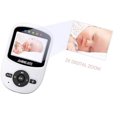 anmeate video baby monitor with digital camera - best baby monitor