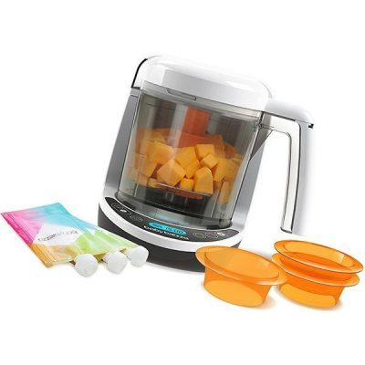 baby brezza small baby food maker set - best baby food maker