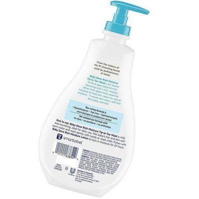 baby dove tip to toe baby wash and shampoo - best baby shampoo