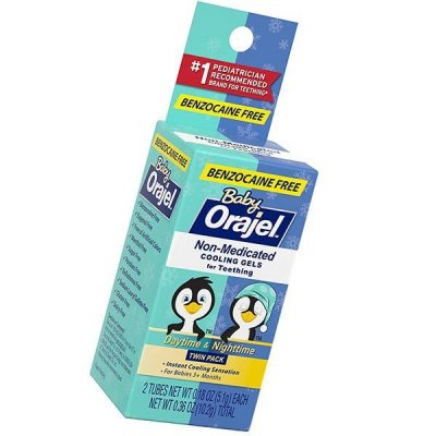 baby orajel non-medicated cooling gels for teething - best teething gels for baby