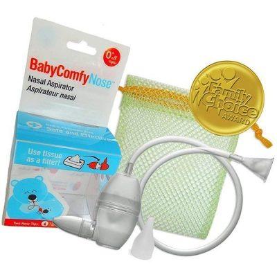 babycomfy nasal aspirator - best baby nasal aspirator