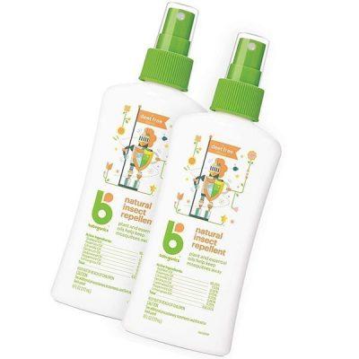 babyganics natural bug spray 6oz spray bottle - best mosquito repellent for babies