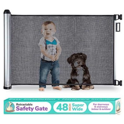 babyseater new retractable baby gate - best retractable baby gates