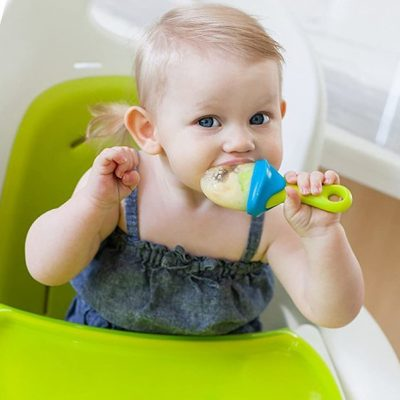 boon pulp silicone feeder - best baby food feeders