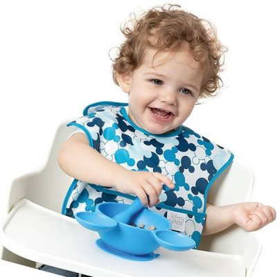 bumkins disney mickey mouse superbib - best baby bibs
