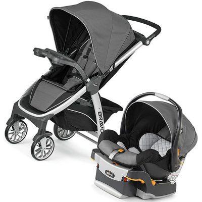 chicco bravo trio travel system - best baby travel system