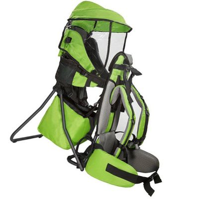 clevrplus cross country baby backpack hiking child carrier - best baby backpack carrier