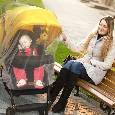 croc n frog mosquito net for baby stroller - best baby mosquito net