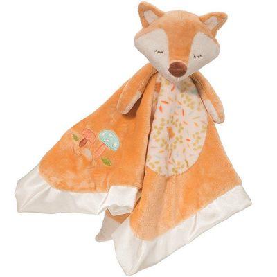 douglas baby fox snuggler plush stuffed animal - best baby security blanket