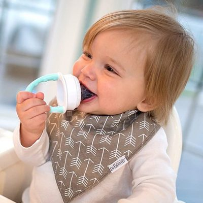 dr. brown's fresh first silicone feeder - best baby food feeders