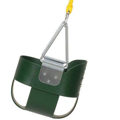 eastern jungle gym heavy-duty high back full bucket swing - best outdoor baby swing