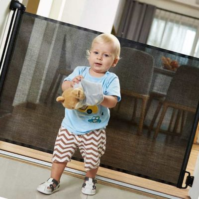 easybaby products indoor outdoor retractable baby gate - best retractable baby gates