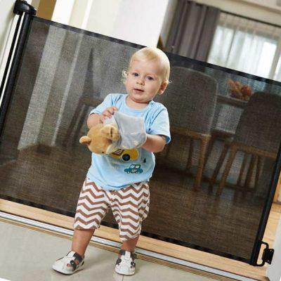 easybaby products indoor outdoor retractable baby gate - best retractable baby gates