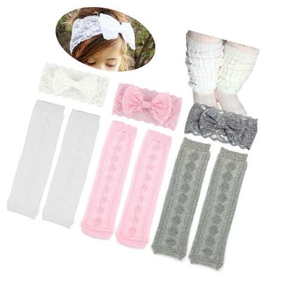 elesa miracle 3 pairs knitted baby & toddler cozy soft argyle leg warmers - best baby leg warmers
