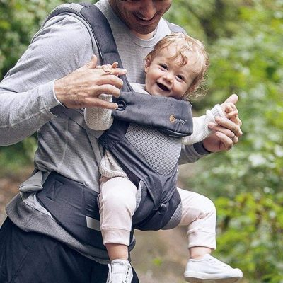 ergobaby 360 all-position baby carrier with lumbar support - best baby carrier