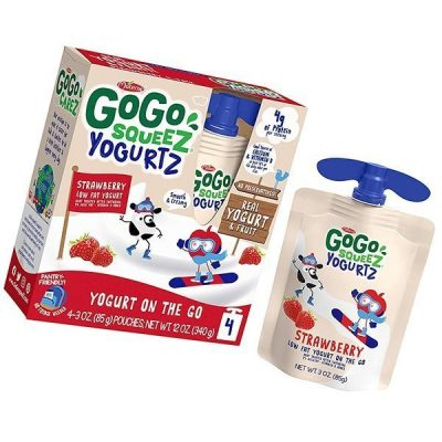 gogo squeez yogurtz - best yogurt for babies
