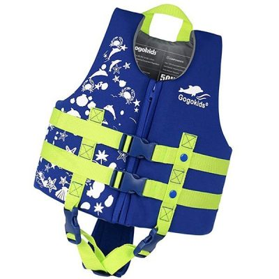 gogokids kids swim vest life jacket - best baby life jacket