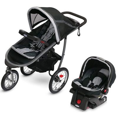 graco fastaction fold jogger travel system - best baby travel system