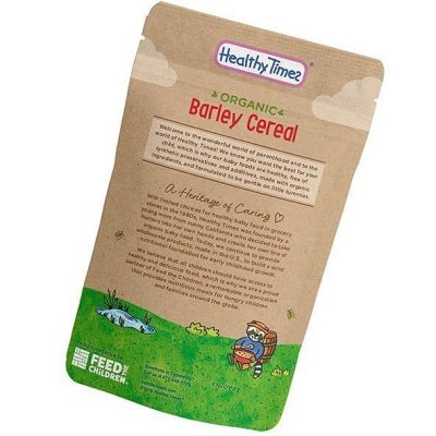 healthy times organic whole grain barley baby cereal - best baby cereal