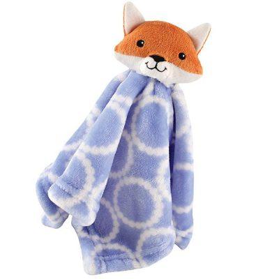 hudson baby unisex baby animal face security blanket - best baby security blanket