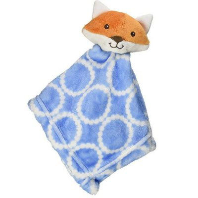 hudson baby unisex baby animal face security blanket - best baby security blanket