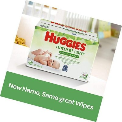 huggies natural care sensitive baby wipes - best baby wipes