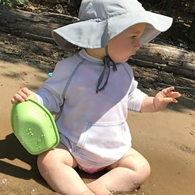 i play. by green sprouts baby girls' brim hat - best baby sun hat