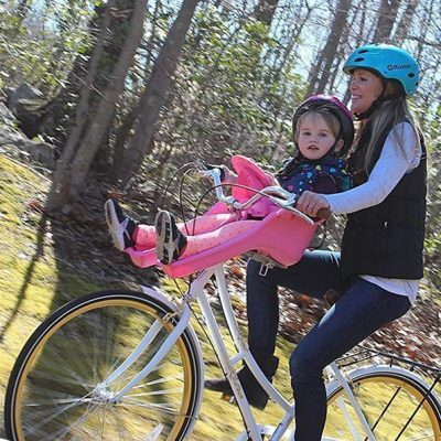 ibert child bicycle safe-t-seat - best infant bicycle carriers