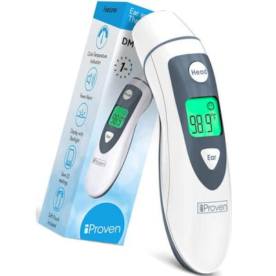 iproven dmt-489 ear and head thermometer - best forehead thermometer