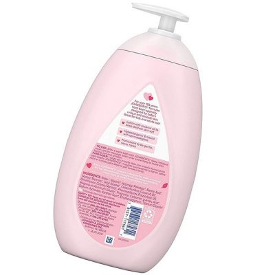 johnson's moisturizing pink baby lotion with coconut oil - best baby lotion