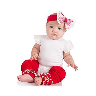judanzy ruffled leg warmers for baby or toddler girls - best baby leg warmers