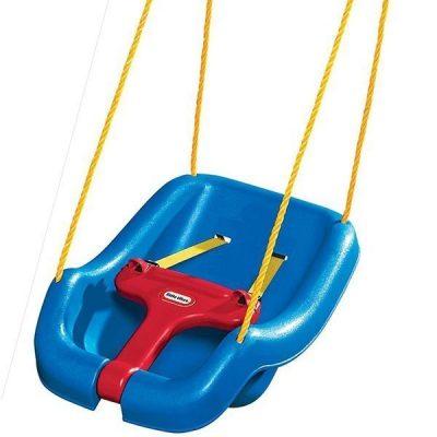 little tikes 2 -in- 1 snug 'n secure grow with me swing - best outdoor baby swing
