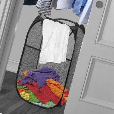 mesh popup laundry hamper - best baby laundry hampers