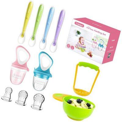 michef food feeder baby fresh fruit feeder - best baby food feeders