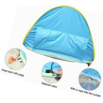 monobeach baby beach tent pop up - best baby beach tent