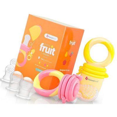naturebond baby food feeder/fruit feeder pacifier - best baby food feeders