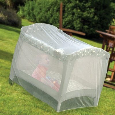 nuby pack n play universal size mosquito net tent - best baby mosquito net