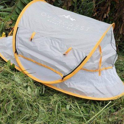 overcrest portable pop up baby beach tent with upf 50+ sun shade - best baby beach tent