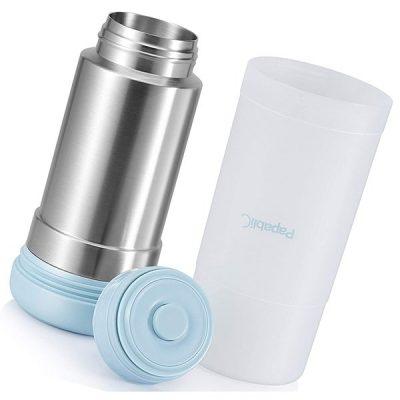papablic mini portable travel baby bottle warmer - best baby bottle warmers
