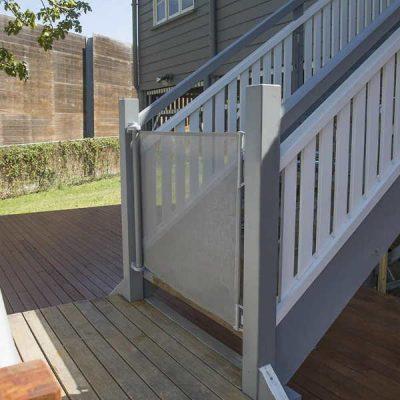 perma outdoor retractable baby gate 33 - best retractable baby gates